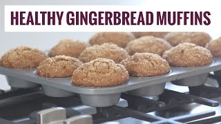 Healthy Gingerbread Muffins Recipe | Pinch Of Yum