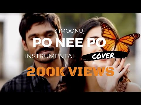 Po nee po (3 Moonu) - Instrumental Guitar and Piano Acoustic Cover - Anirudh Ravichander Tamil Song