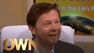 Eckhart Tolle's Secret to Happiness in 3 Words | A New Earth | Oprah Winfrey Network
