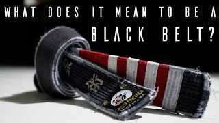 BJJ: What Does It Mean To Be A Blackbelt?