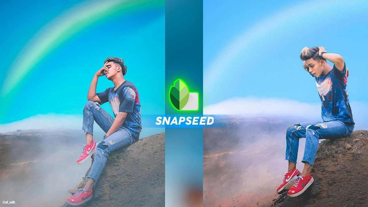 New Snapseed Background Change Trick / Snapseed Photo Editing Secret [ AF EDIT ]
