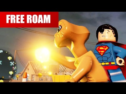LEGO Dimensions - ET Free Roam Gameplay Part 1 (the Extra-Terrestrial)