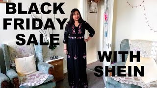 BUMPER SALE ON BLACK FRIDAY at SHEIN || Dresses, Tops and Jewelry Haul || TRY ON HAUL WITH SHEIN