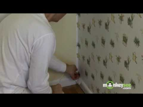 Wallpaper Installation In A Corner Part 2 Youtube