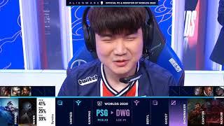 DWG vs PSG Group Day 6 WORLDS 2020 Чемпионат Мира Damwon Gaming vs PSG Talon