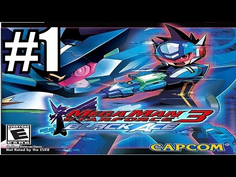 MegaMan Starforce 3 Black Ace Gameplay Walkthrough Part 1