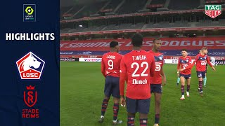 LOSC LILLE - STADE DE REIMS (2 - 1) - Highlights - (LOSC - SdR) / 2020-2021