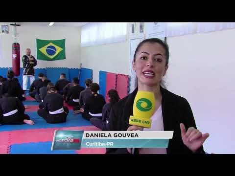 Lutar para vencer - Hapkido Curitiba - Song Do na CNT