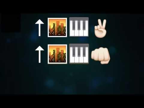 Uptown Funk - Emoji Lyrics