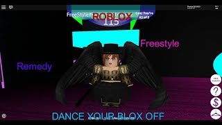 Roblox- Dance Your Blox Off- Remedy- Jazz