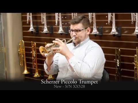 J. Scherzer Rotary Piccolo Trumpet