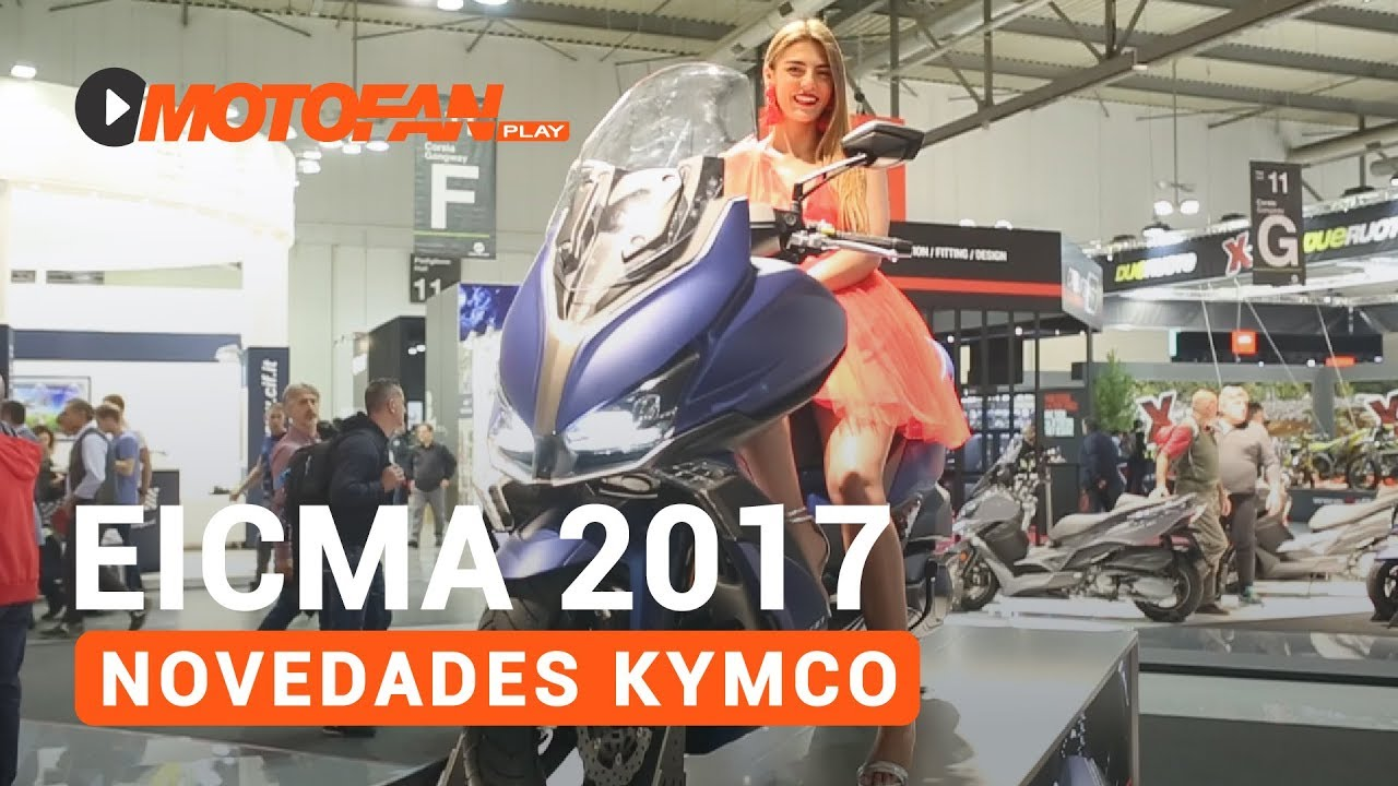 novedades kymco 2018 sal n eicma 2017 youtube. Black Bedroom Furniture Sets. Home Design Ideas