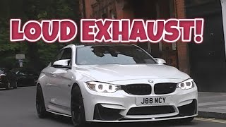 BMW M4 w/ M performance exhaust-SOUNDS!