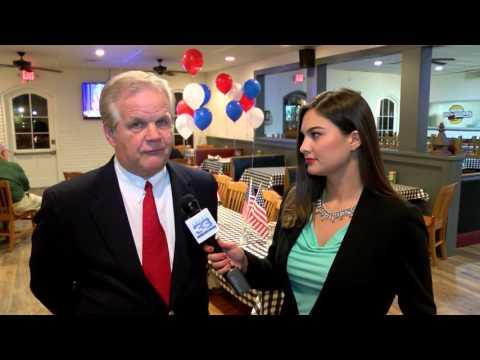 Louisiana Republican Primary - Donald Trump watch