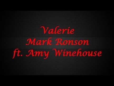 Mark Ronson - Valerie (ft. Amy Winehouse) ~JBX Lyrics~
