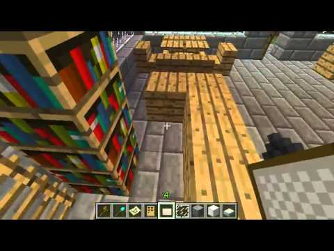Minecraft - Gotham City build - Part 17 - School & cafe