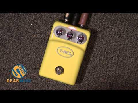 T-Rex Tonebug Fuzz Pedal: Looks Like Sunshine, Sounds Like Sunstroke (Video)