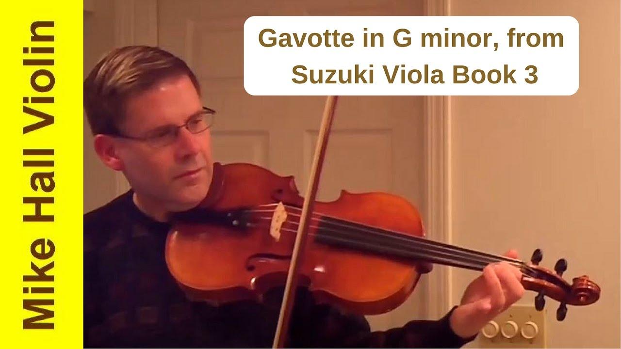 Gavotte in g minor suzuki book 3 violin sheet
