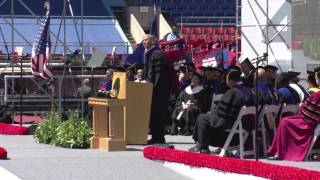 Repeat youtube video Cory Booker 2017 Commencement Speech