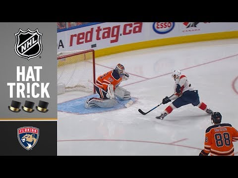 Vincent Trocheck records first NHL Hat Trick