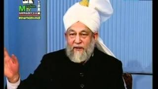 Turkish Darsul Quran 6th February 1995 - Surah Aale-Imraan verses 182-184 - Islam Ahmadiyya