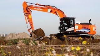 Hitachi hybrid excavators - sustainable and cost-effective