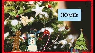 HOME!! December 15th Vlogmas 2018/ Uni vlogs