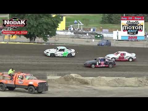 Nodak Speedway IMCA Sport Compact Heats (Motor Magic Night #3) (9/1/19)