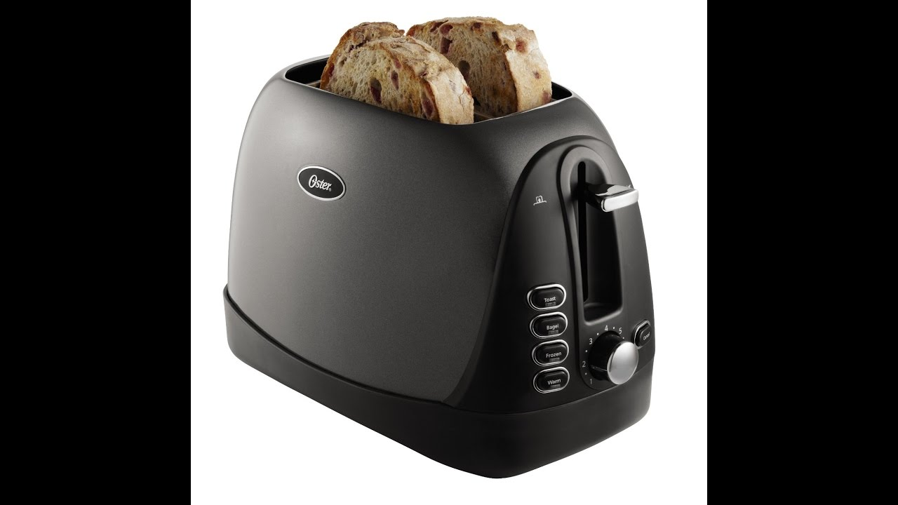 Review: Oster TSSTTRJBG1 Jelly Bean 2-Slice Toaster, Grey - YouTube