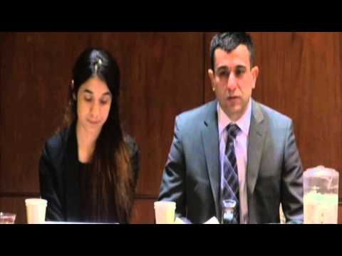 Nadia Murad Basee Taha on YouTube