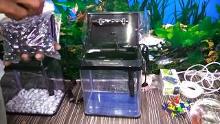 How to setup a small aquarium - try it yourself