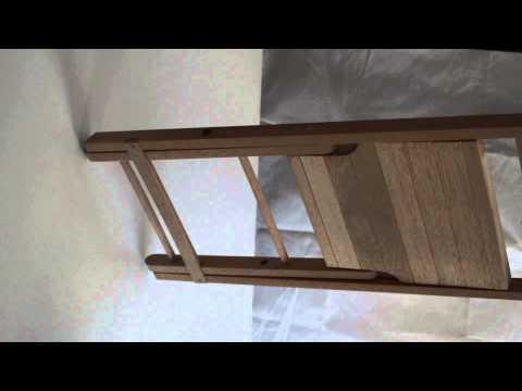 Silla plegable en madera de banak para jard n o terreza for Sillas para jardin baratas