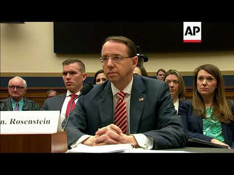 Rod Rosenstein blames FBI while defending Russia probe
