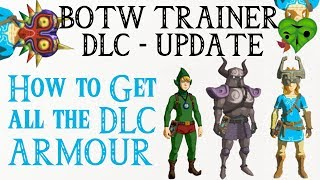 How to use botw trainer to edit items mod weapons get amiibo