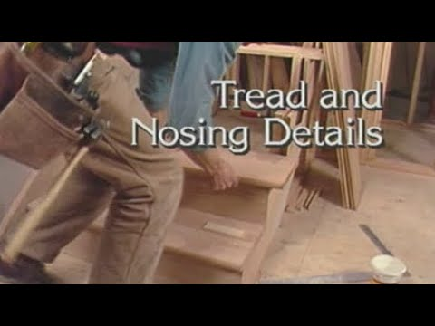 Tread And Nosing Details Youtube