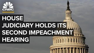 Impeachment hearing live: Dem and GOP counsels present evidence to House Judiciary Committee