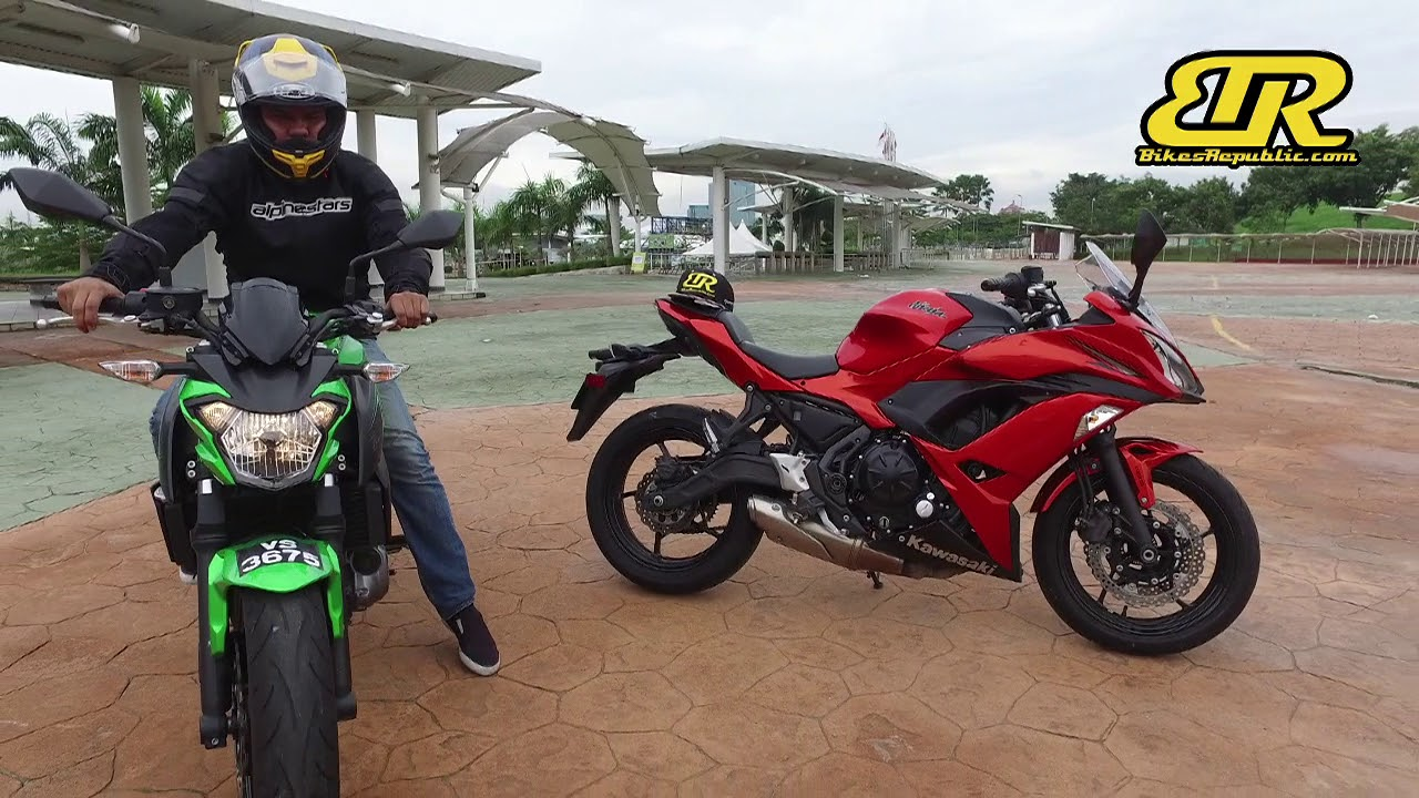 10 Things We Like About The Kawasaki Ninja 650 Z650 Youtube
