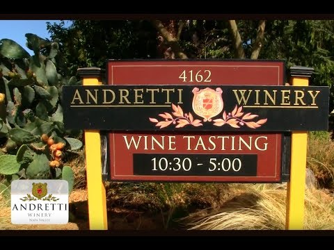 Andretti Winery in the Napa Valley Vineyards