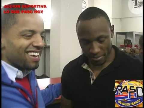 STARLING MARTE CONVERSO CON RONNIE ALVAREZ JUEGO 3 FINAL