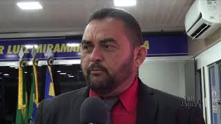 Vereador Girleudo reclama a inercia do coordenador de serviços da prefeitura em Flores.