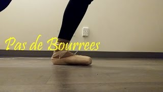 Ballet: Pas De Bouree. Over, under, devant, derriere (the difference explained)