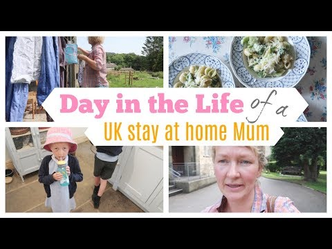 DAY IN THE LIFE VLOG | UK Stay at Home Mum/Mom