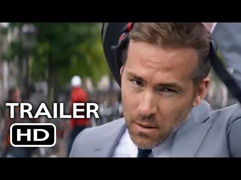 The Hitman's Bodyguard Official Trailer #1 (2017) Ryan Reynolds, Samuel L. Jackson Action Movie HD