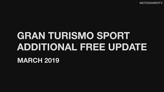 Gran Turismo Sport - Patch 1.36 (Additional March Free Update) Trailer