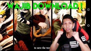 Wajib Download Game Ini Buat Para Pecinta Naruto / Anime !