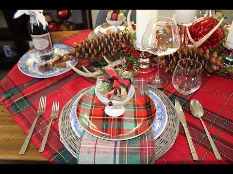 Christmas Table Setting Ideas How To Set A Rustic Christmas