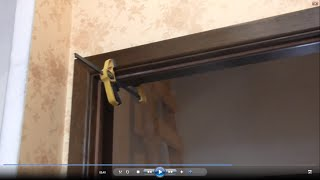 Наличники без гвоздей это просто.(Метод установки дверных наличников с помощью самозажимных струпцин на монтажную пену., 2016-01-31T06:18:30.000Z)