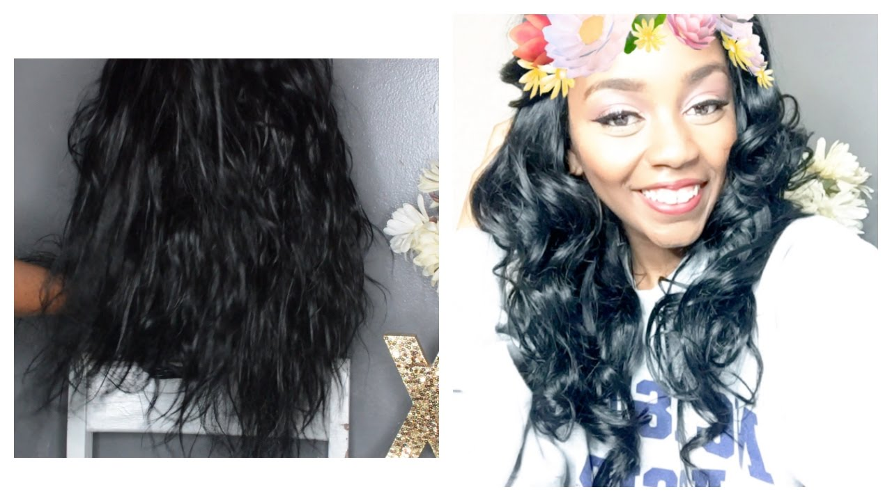 How To Revive Old Weave Boiling Deep Condition Youtube