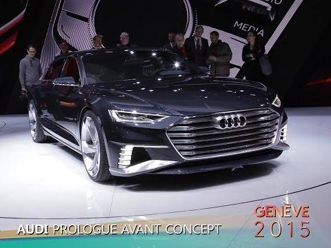 Audi Prologue Avant Concept en direct du salon de Genève 2015