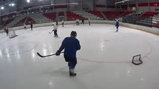 Хоккей Россия Псков массовое катание с клюшками
